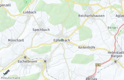 Stadtplan Epfenbach