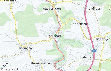 Stadtplan Epfendorf