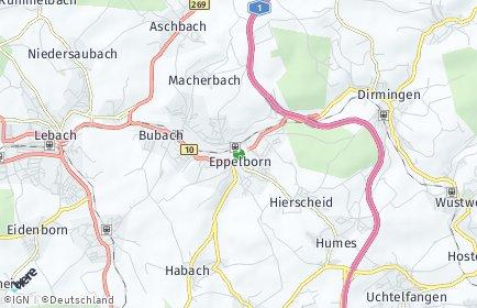 Stadtplan Eppelborn