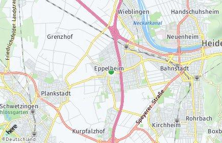 Stadtplan Eppelheim