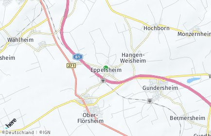 Stadtplan Eppelsheim