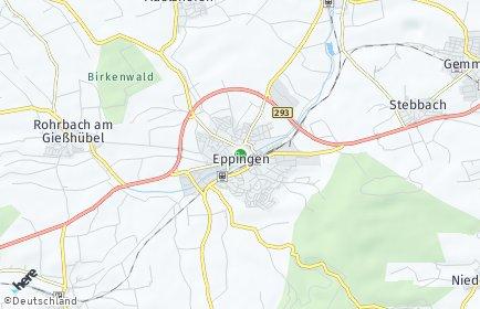 Stadtplan Eppingen