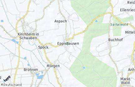 Stadtplan Eppishausen