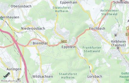 Stadtplan Eppstein