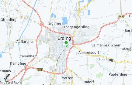 Stadtplan Erding