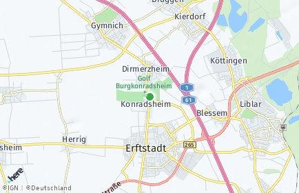 Stadtplan Erftstadt