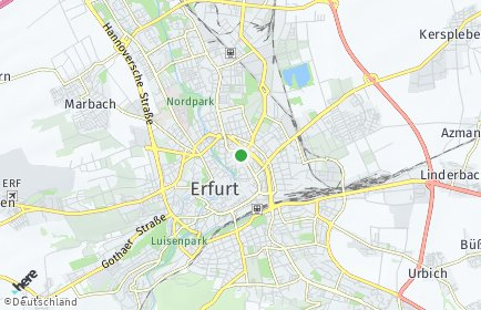 Stadtplan Erfurt OT Töttelstädt