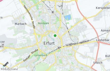 Stadtplan Erfurt OT Egstedt