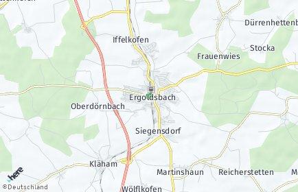 Stadtplan Ergoldsbach