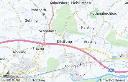 Stadtplan Erharting