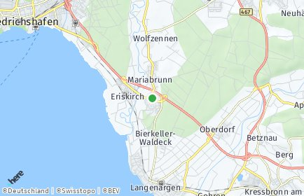 Stadtplan Eriskirch