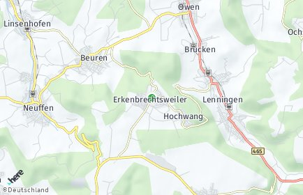 Stadtplan Erkenbrechtsweiler