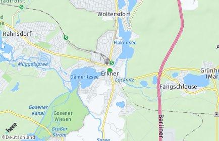 Stadtplan Erkner