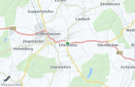 Stadtplan Erlenmoos