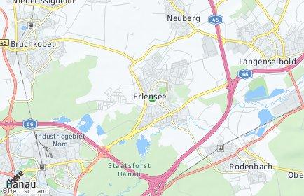 Stadtplan Erlensee