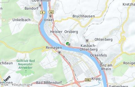 Stadtplan Erpel