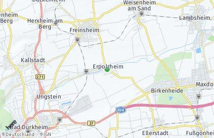 Stadtplan Erpolzheim