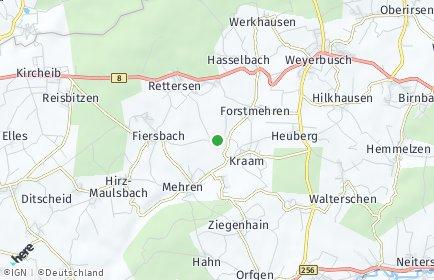 Stadtplan Ersfeld