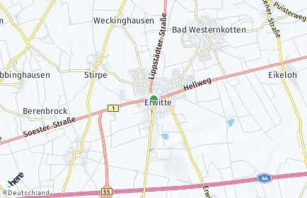 Stadtplan Erwitte