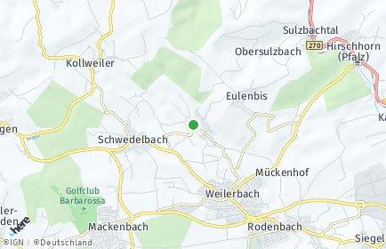 Stadtplan Erzenhausen