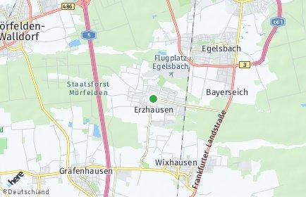 Stadtplan Erzhausen