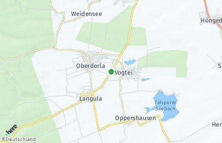 Stadtplan Vogtei