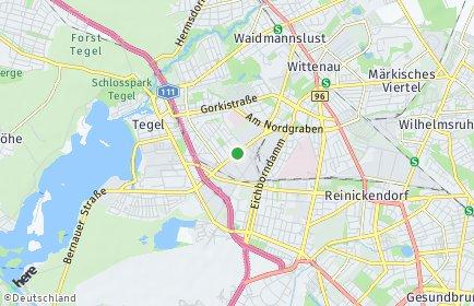 Stadtplan Berlin-Borsigwalde