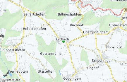 Stadtplan Eschach