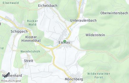 Stadtplan Eschau