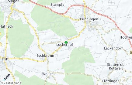 Stadtplan Eschbronn