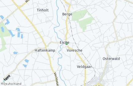 Stadtplan Esche