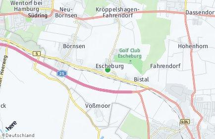 Stadtplan Escheburg