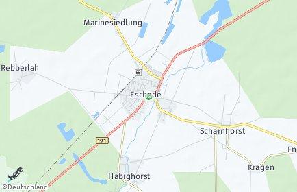 Stadtplan Eschede