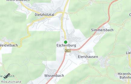 Stadtplan Eschenburg