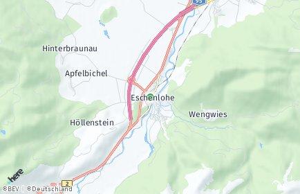 Stadtplan Eschenlohe