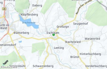 Stadtplan Eschlkam