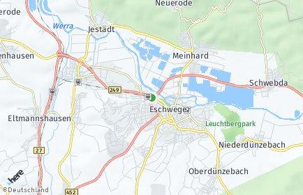 Stadtplan Eschwege