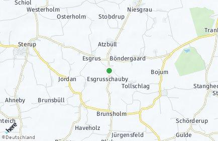 Stadtplan Esgrus