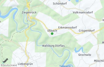 Stadtplan Eßbach