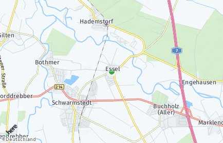 Stadtplan Essel