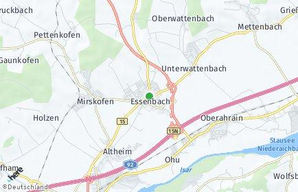 Stadtplan Essenbach