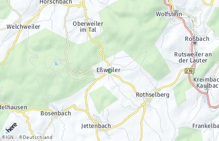 Stadtplan Eßweiler