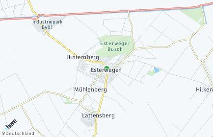 Stadtplan Esterwegen