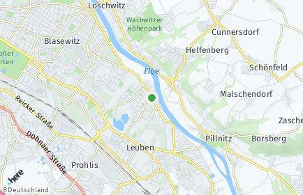 Stadtplan Dresden OT Laubegast