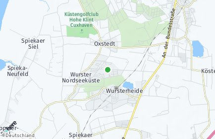 Plz Wurster Nordseekuste Postleitzahl Niedersachsen Deutschland
