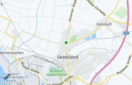 Stadtplan Geestland OT Drangstedt