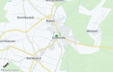 Stadtplan Südheide