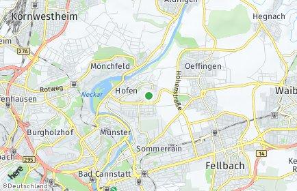 Stadtplan Stuttgart OT Neugereut
