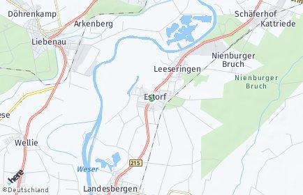 Stadtplan Estorf (Weser)