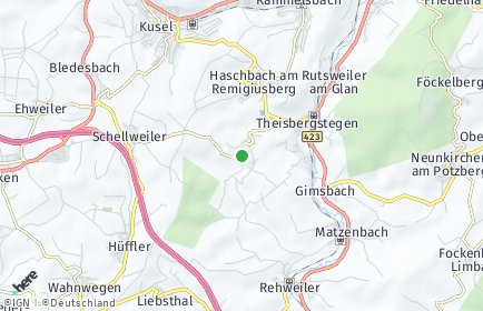 Stadtplan Etschberg